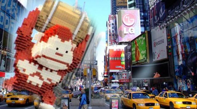 pixels-movie-Donkey Kong